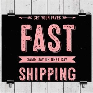 Fast shipping 🚢